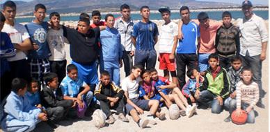 جمعية الريف الكبير للتنمية والجمعية الرياضية للريكبي بأركمان في رحلة تنشيطية إلى مركز بوقانة