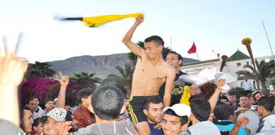 مدينة زايو تبتهج فرحا وسرورا بفوز فريقها وصعوده للقسم الثالث من البطولة الوطنية