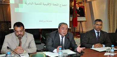 اللجنة الإقليمية للمبادرة الوطنية للتنمية البشرية بالناظور تصادق على 53 مشروع في إطار البرنامجين القروي والأفقي