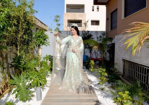 """بمناسبة السنة الجديدة 2020.. صالون """"لينا"""" يقدم لزبنائه أجود ملابس العرائس وأخر ما جد في عالم التزيين"""