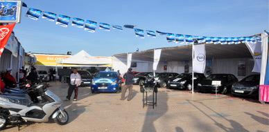 إفتتاح النسخة الثانية من فعاليات معرض مارتشيكا أوطو للسيارات والدراجات النارية بكورنيش الناظور