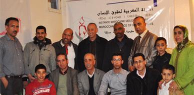 الهيئة المغربية لحقوق الانسان تفتتح مقرا لها بمدينة زايو