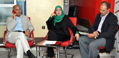 """برنامج """" مامش ثادجيذ أوان يزوان أمان """"  يناقش موضوع مشاركة مغاربة العالم في إنتخابات دول إقامتهم"""