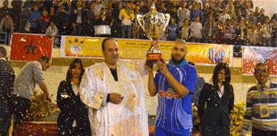 اختتام فعاليات الدورة الأولى من دوري كأس الصحراء المغربية لكرة السلة بتتويج فريق شباب الريف الحسيمي