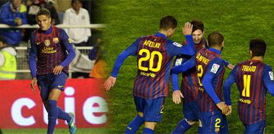 أفيلاي يعود للعب مع برشلونة من بوابة رايو فاييكانو