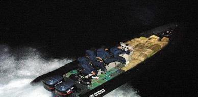 ظبط  قارب مطاطي وحجز كمية 140 كيلوغراما من مخدر الشيرا بعرض سواحل راس الماء بالناظور