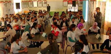 الثانوية الإعدادية سلوان الجديدة تنظم مسابقة ثقافية لفائدة تلامذة الثانية ثانوي