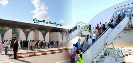 ارتفاع مستخدمي مطار الناظور العروي في الأشهر الثلاثة الأولى من العام الجاري بأزيد من 13 بالمئة