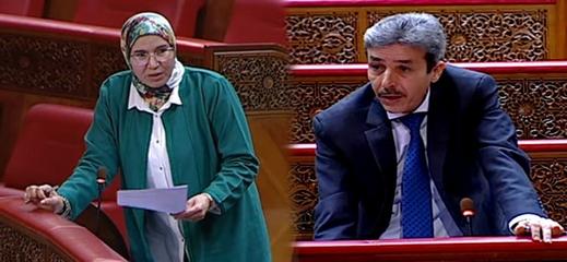 """البرلماني الطيب البقالي ينبه الحكومة إلى معاناة المواطنين مع تأشيرة """"شنغن"""" وهذا رد الوزيرة نزهة الوافي"""