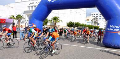 جمعية الناظور لسباق الدراجات الهوائية والجبلية تنظم سباق على الطريق بين الناظور ورأس الماء