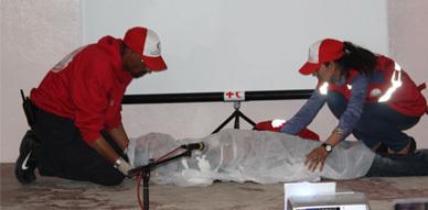 قافلة الهلال الأحمر المغربي تحط رحالها بزايو للتحسيس والتوعية بظاهرة الهجرة
