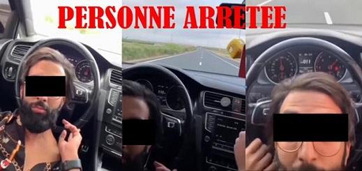 مقطع فيديو استعراضي خطير يجر شابا متهورا في السياقة للتحقيق