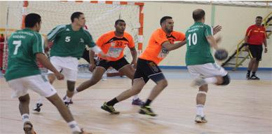 هلال الناظور لكرة اليد يتعادل مع بطل المغرب نهضة بركان في ديربي الشرق
