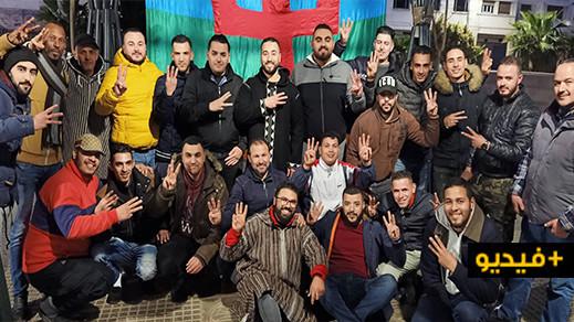 سائقو الطاكسيات بالناظور يخلدون حلول السنة الأمازيغية الجديدة