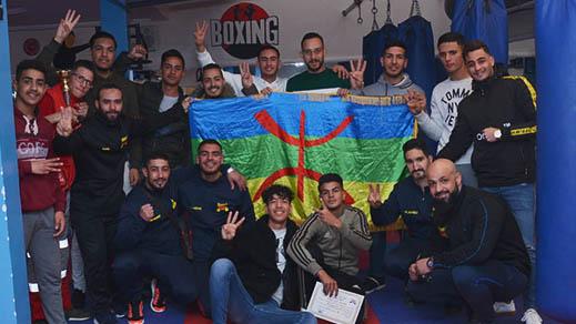 جمعيات رياضية تنظم دوريا في رياضة الكيك بوكسينغ والطاي بوكسينغ إحتفالا بالسنة الأمازيغية