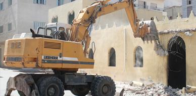 مدينة العروي تشهد أشغال إعادة بناء المسجد المركزي بالمدينة