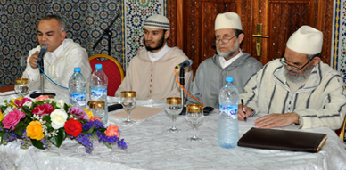 المجلس العلمي و مندوبية الشؤون الاسلامية ينظمان بمسجد السنة بالناظور لقاء تواصليا مع الوعاظ والمرشدين