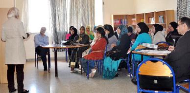 دار البر للطالبات بزايو تستضيف دورة تكوينية في مجال محاربة الأمية