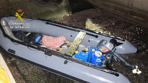 بالصور.. مستجدات تفكيك شبكة تبيع القوارب المطاطية بمليلية لمهربي الحشيش والبشر