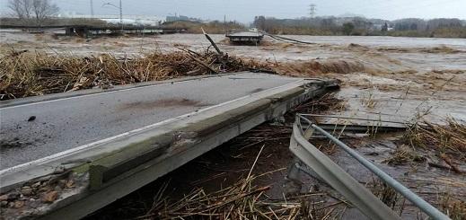 """إسبانيا.. ارتفاع حصيلة ضحايا عاصفة """"غلوريا"""" إلى 10 قتلى وأربعة في عداد المفقودين"""