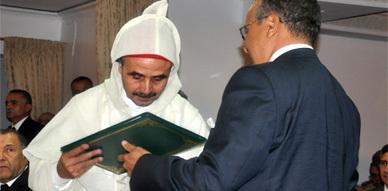 وزير التشغيل يشرف على حفل تنصيب المصطفى العطار عاملا على إقليم الناظور خلافا للعاقل بنتهامي