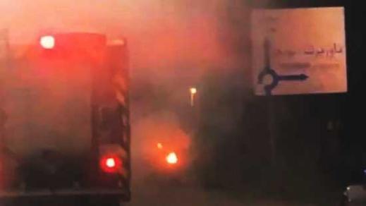 """قنينة لغاز """"البوطان"""" تتسبب في انفجار سيارة ضواحي الناظور"""