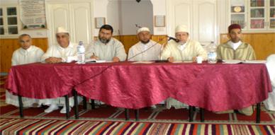 المجلس العلمي بالناظور ينظم لقاءا تواصليا مع أئمة وفقهاء بني شيكر