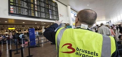 ذعر في مطار بروكسل إثر تحذير من أشخاص مصابين بفيروس كورونا