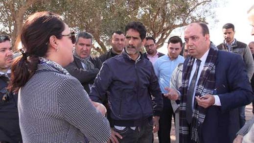 زرو يجتمع مع سكان حي بوعرورو لإيجاد حلول للمشاكل التي تواجههم