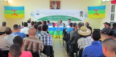 جمعيتا أيت سعيد وادشار إينو تحتفيان بالإبداع الأدبي في الملتقى الأمازيغي الخامس
