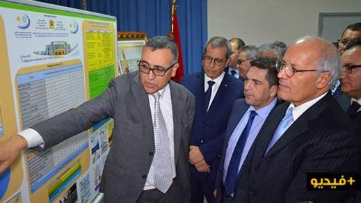 أمزازي يطلع بسلوان على مشروع توسيع الكلية وإحداث مؤسستين جامعيتين