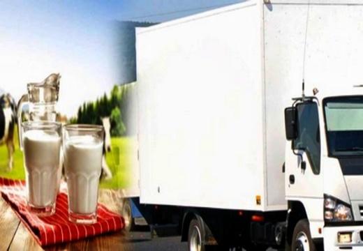 حجز شاحنة محملة بحوالي 2 طن من الحليب ومشتقاته فاسدة بقرية أركمان