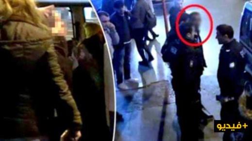 """فيديو: اعتقال مغربي تحرش بطفلة تبلغ 11 عاما بـ """"الميترو"""" بإسطنبول"""