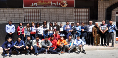 """تلاميذ معهد """"لوبي دي فيغا"""" ينظمون زيارة ميدانية لمقر موقع ناظورسيتي"""