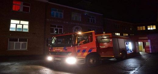 إجلاء عشرات السكان بعد إندلاع حريق ضخم بالقرب من محطة بروكسل نورد
