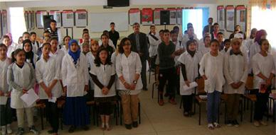 نادي الإبداع الفني والأدبي يشرف على تنظيم أمسية ثقافية لتلاميذ الثانوية الإعدادية بسلوان