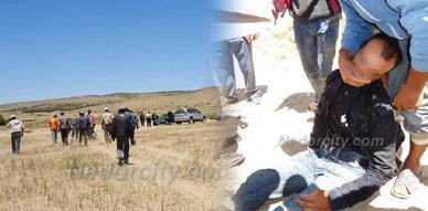 إغماء أحد سكان دوار الركنة بحاسي بركان بعد منعهم من استغلال بيع الرمال