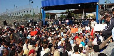 تنسيقية المجتمع المدني تدعو إلى الإحتجاج ضـد الحكومة المغربية و السلطات الإستعمارية بـسبتة ومليلية