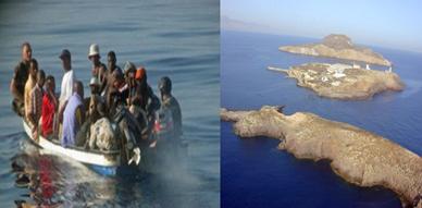 """مافيا الهجرة السرية تنشط عبر خط جديد إنطلاقا من رأس الماء إلى جزيرة """"تشافاريناس"""""""