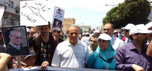 أحمد الزفزافي يندد بعزم منذوبية السجون مقاضاته