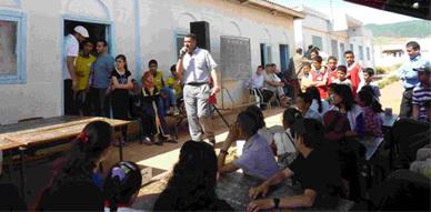 نشاط ثقافي بفرعية حلولة التابعة لمجموعة مدارس بني مليكشن بتمسمان
