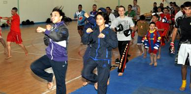 """حضور وازن ومتميز في التدريب الوطني لـ """"اللايت فري فايت"""" المنظم من طرف جمعية شباب الناظور"""