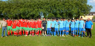 جمعيتا أنوال الخيرية وبدر الرياضية بإسن الألمانية ينظمان دوري في كرة القدم للأطفال