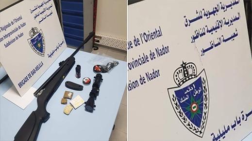 غريب.. توقيف مهاجر حاول إدخال بندقية إلى الناظور باستعمال الطلاسم والسحر