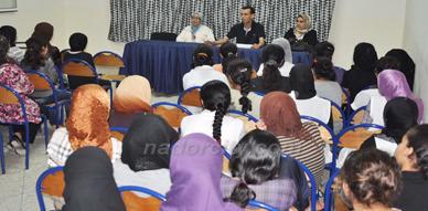 دار البر للطالبات بزايو تنظم ندوة فكرية حول مرض داء السرطان