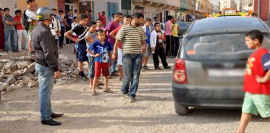 إيقاف شخص بالناظور إثر تهوره بواسطة سيارة وعدم توفره على رخصة السياقة