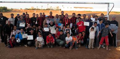 جمعية التنمية والتعاون بتاويمة تكرم لاعبيها القدامى