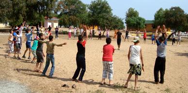 جمعية الشعلة للتربية والثقافة فرع الناظور تنظم رحلة ترفيهية