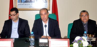 الفعاليات الرياضية بإقليم الناظور تشخص الواقع الرياضي بالإقليم والوزير محمد أوزين يعد بمشاريع هامة بالمنطقة