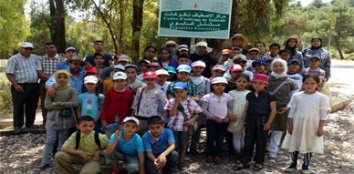 مدرسة الحي الجديد بالعروي تنظم رحلة إيكولوجية وترفيهية إلى طبيعة تافوغالت لفائدة تلامذتها